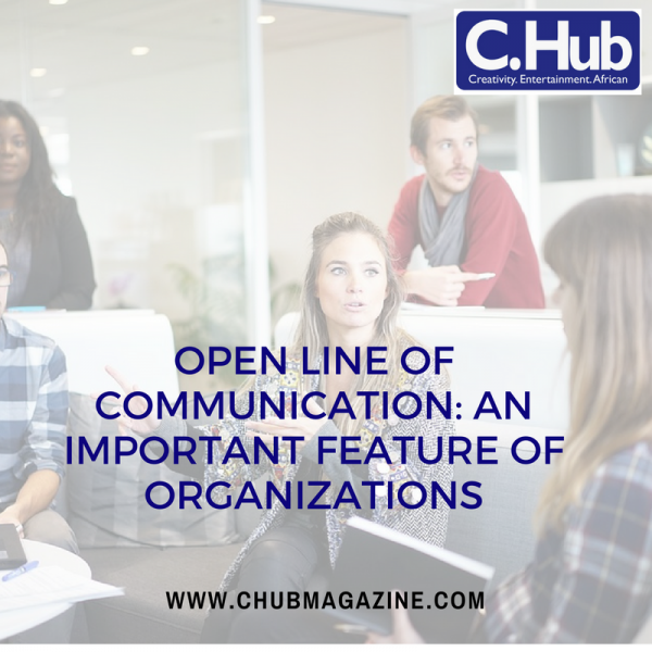 Open Line of Communication: an Important Feature of organizations