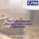 Tips for being Productive while Travelling