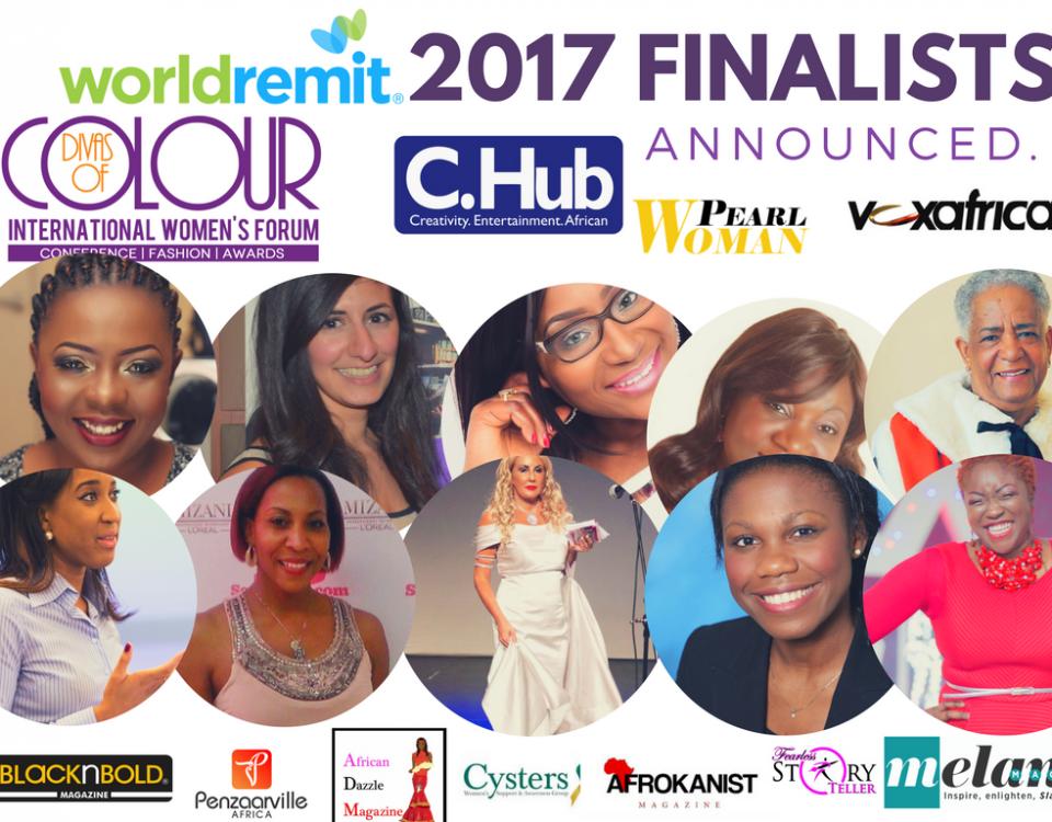 Divas of Colour 2017 finalists