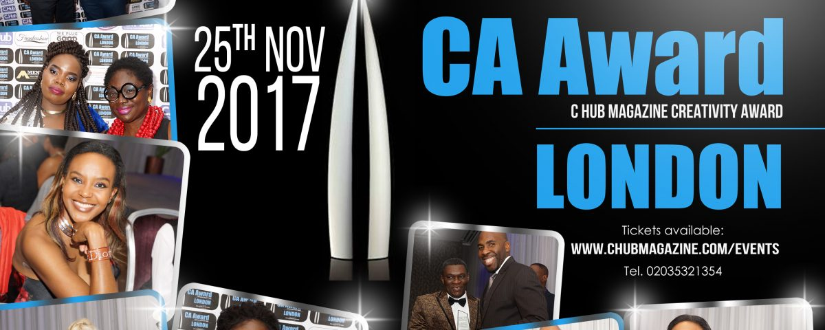 CA Award 2017 nomination flyer