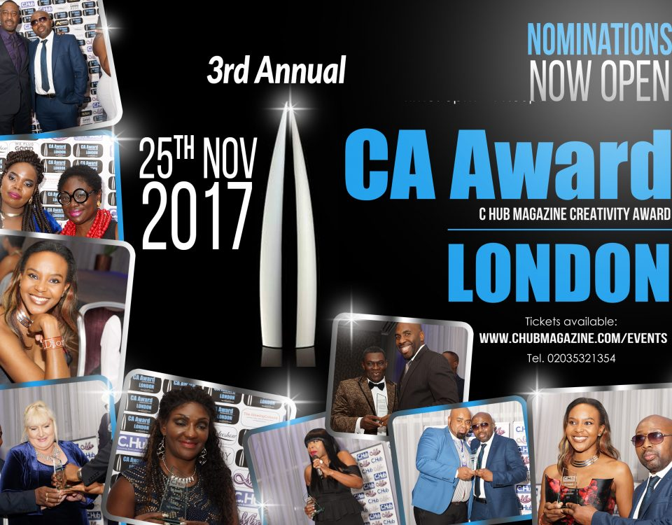 CA Award 2017 nomination flyer