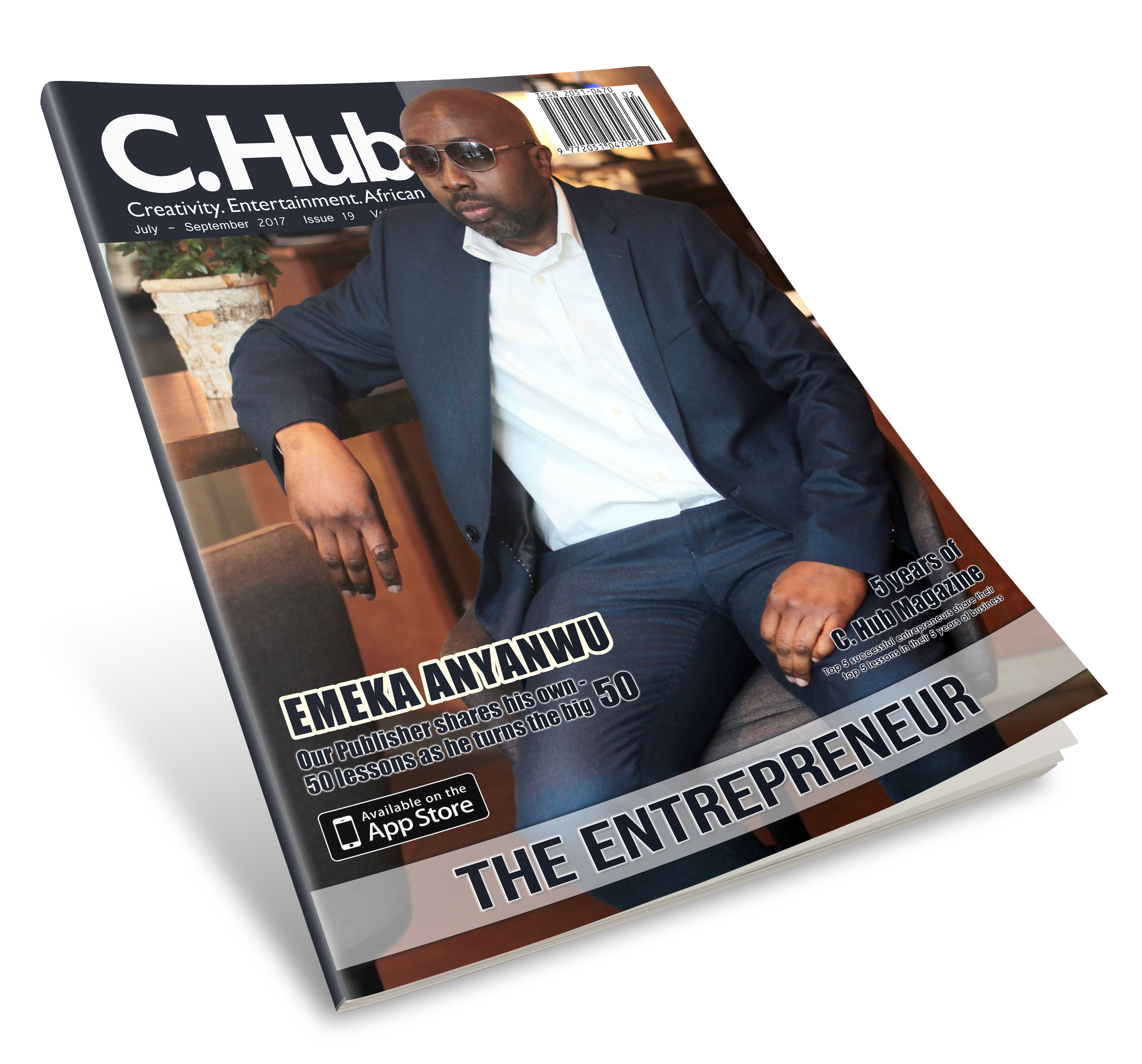 3d Magazine cover Entrepreneur issue