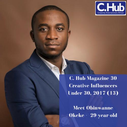 Meet Obinwanne Okeke - 29-year-old
