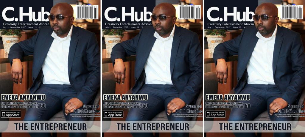 Cover man, Emeka Anyanwu for The Entrepreneur issue.