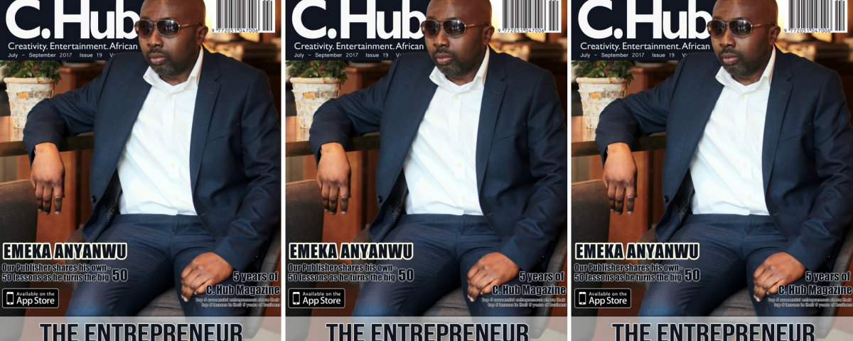 Cover man, Emeka Anyanwu for The Entrepreneur issue.