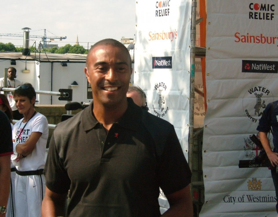 Jackson at a charity event in 2005