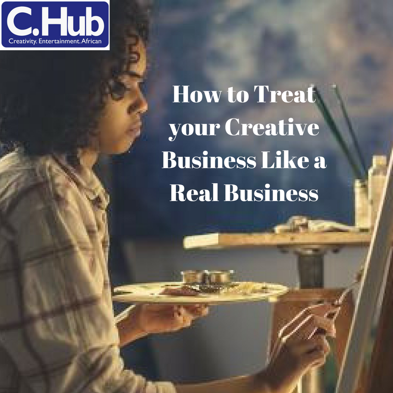 How to Treat your Creative Business Like a Real Business