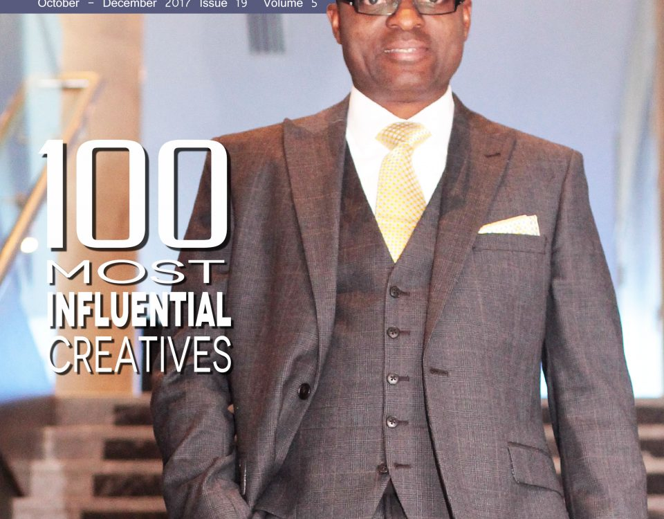 100 Most Influentia , C. Hub Magazine, cover man, Godwin Okri.