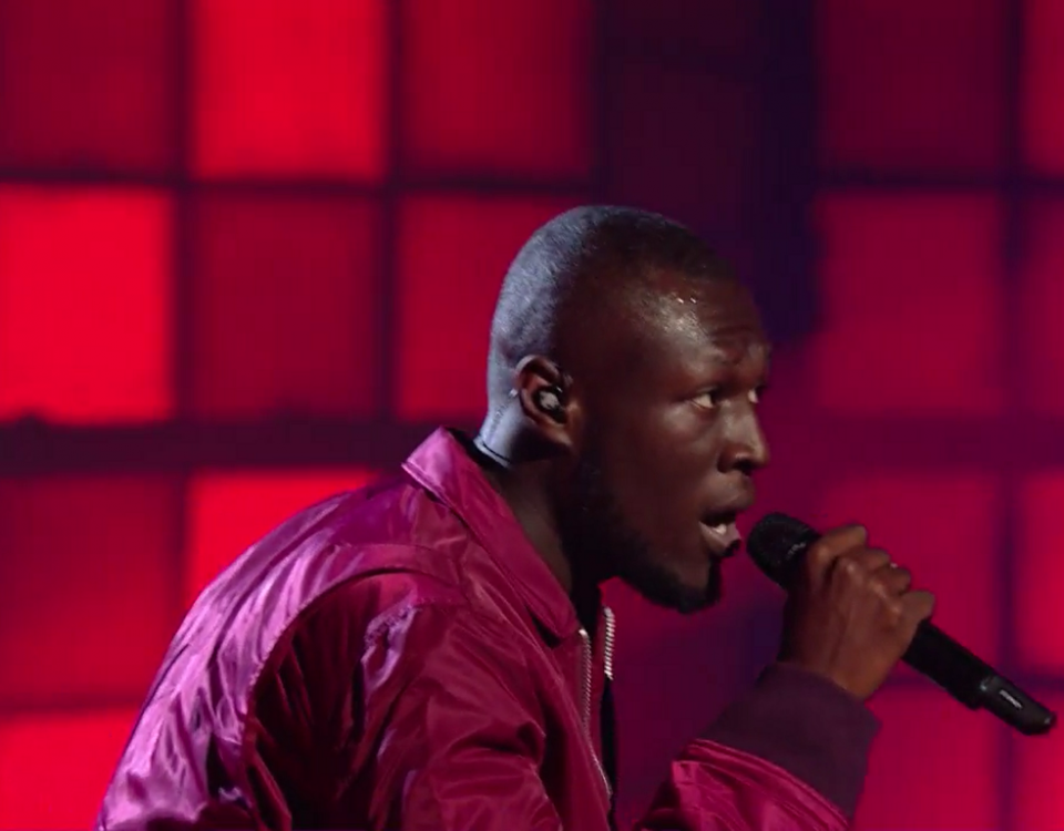 Stormzy at Xfactor Screenshot (c) The XFactor