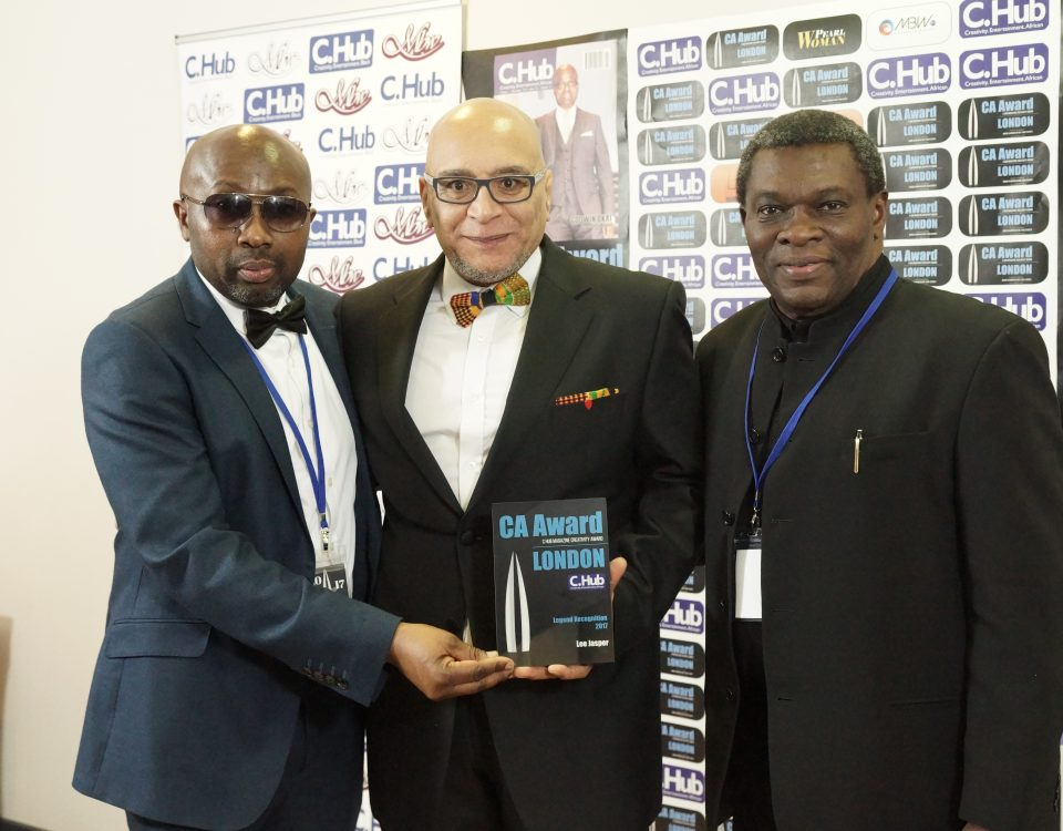 Mr Emeka Anyanwu, Mr Lee Jasper and Prof. Rotimi Jaiyesimi.