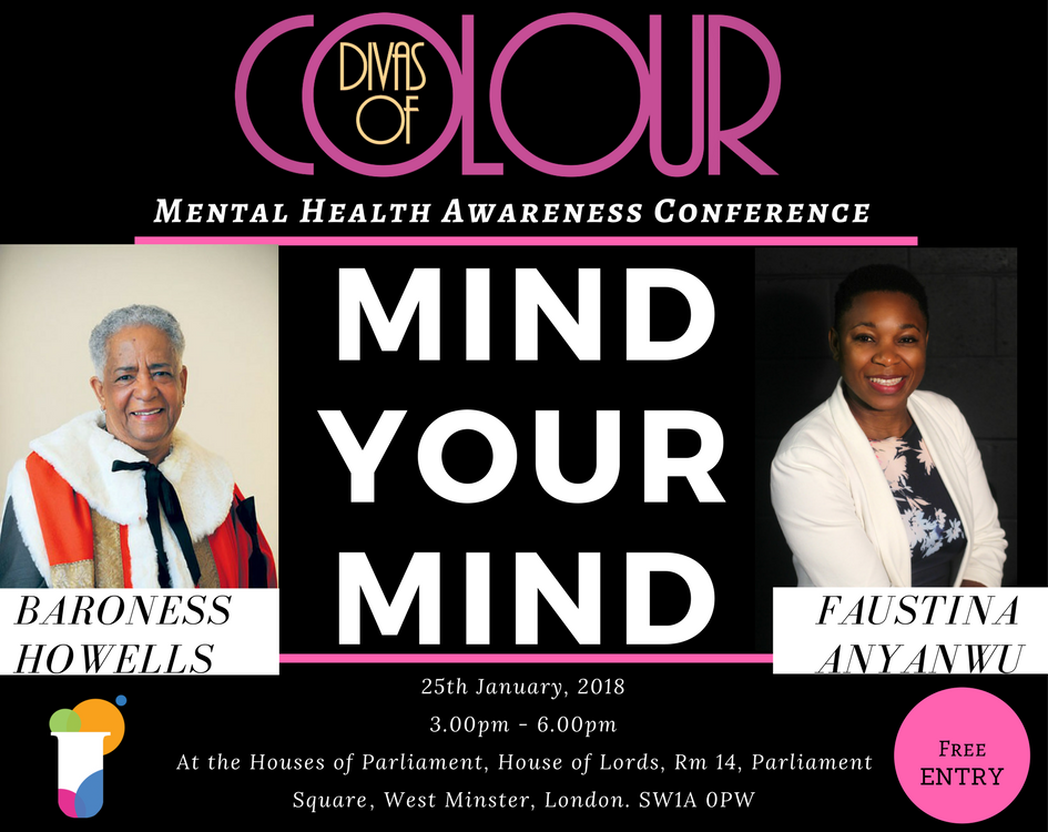 Divas of Colour Mind Your Mind Mental Health Awareness Conference.