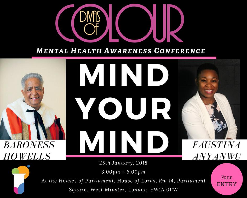 Divas of Colour Mind Your Mind Mental Health Awareness Conference.